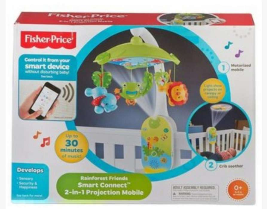 Movil Proyector 2 en 1 Fisher Price