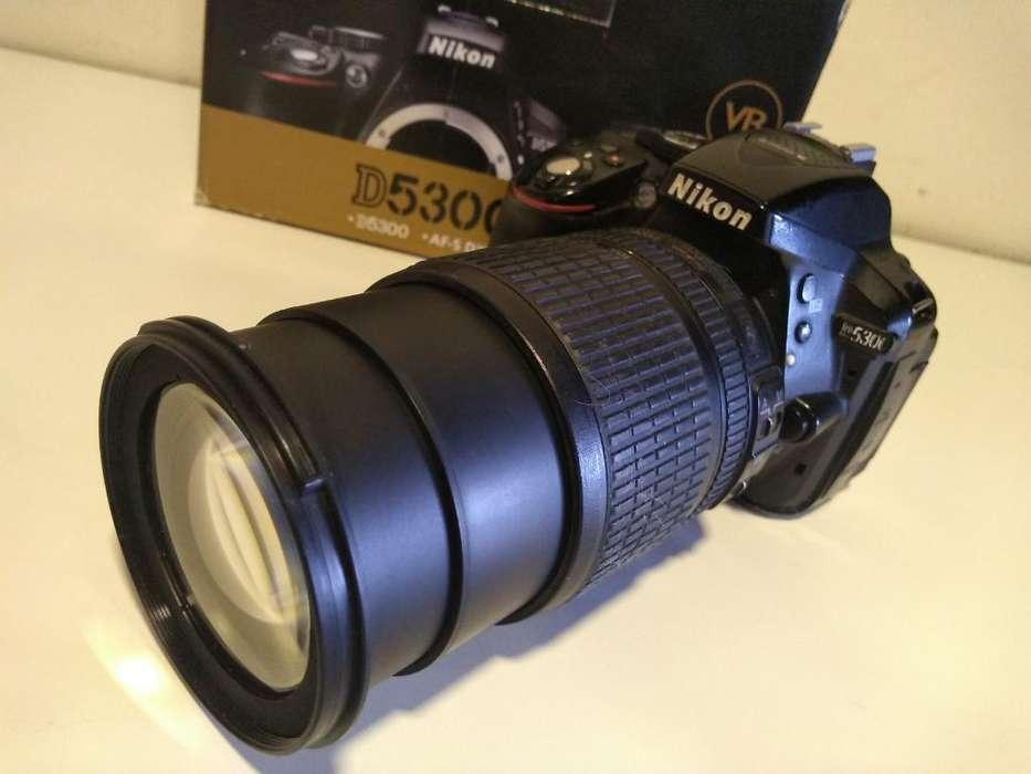 Nikon D5300 24mpx Lente18/105 Nikor