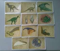 Laminas Especiales Album Animales Prehistoricos