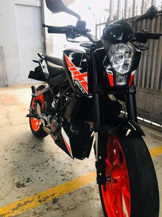 Vendo Ktm Duke200-2018