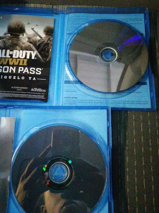 Se Vende Fifa 18 Y Call Of Duty Wwii.