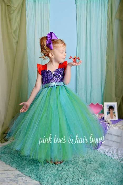 Vestido de Niña Sirenita