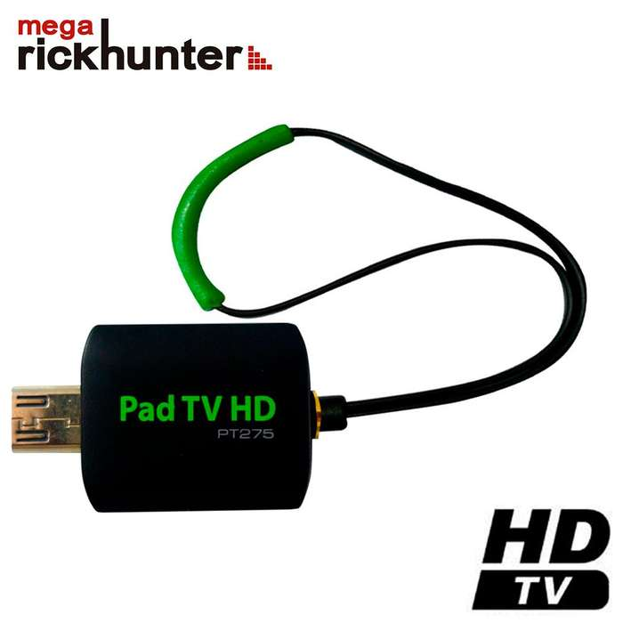 Pad Tv Hd Sintonizador Tv Pt275 Android Megarickhunter
