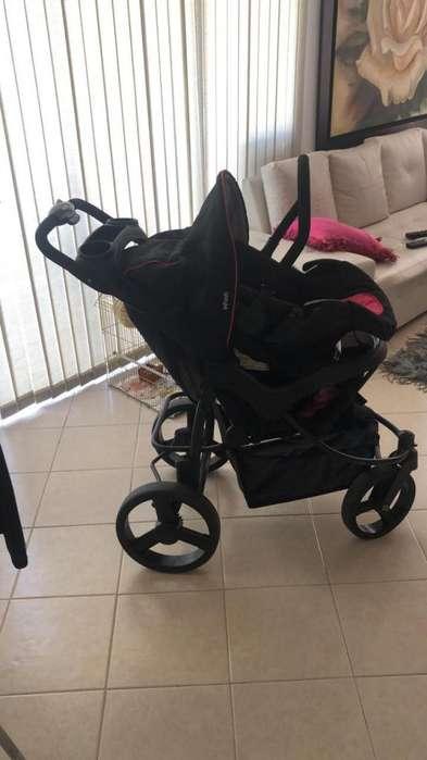 coche con silla para bebe marca infanti