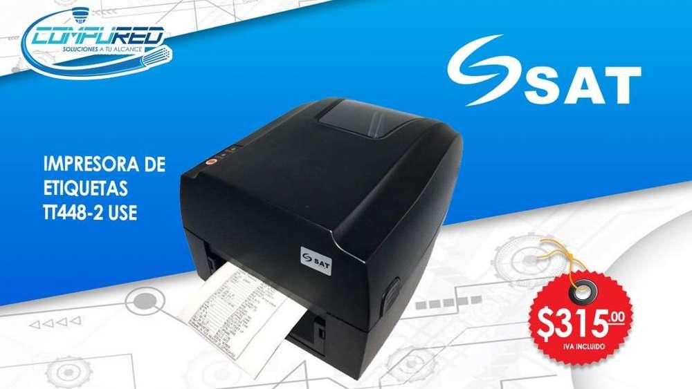 <strong>impresora</strong> de Etiquetas SAT TT448USE