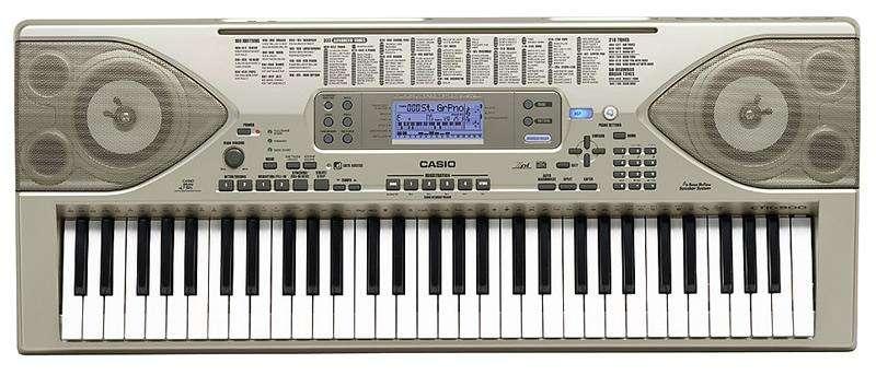 Piano Teclado Organo CASIO CTK 900