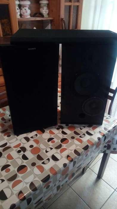 Bafles Sony 3 Vias Parlanteria Nueva