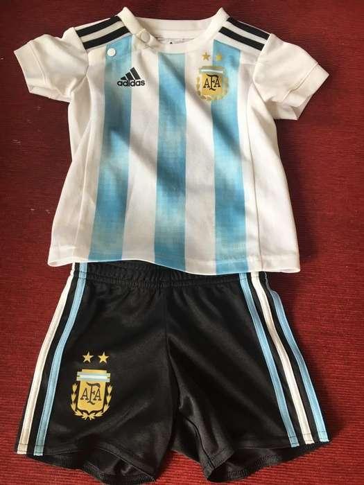 Conjunto Argentina Adidas Talle 6 9 M