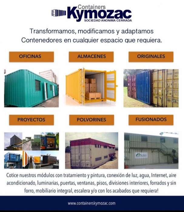 Contenedores Kymozac tel 940950592 Rosa Chumbiray