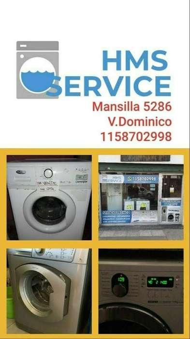 Service Lavarropas en El Dia
