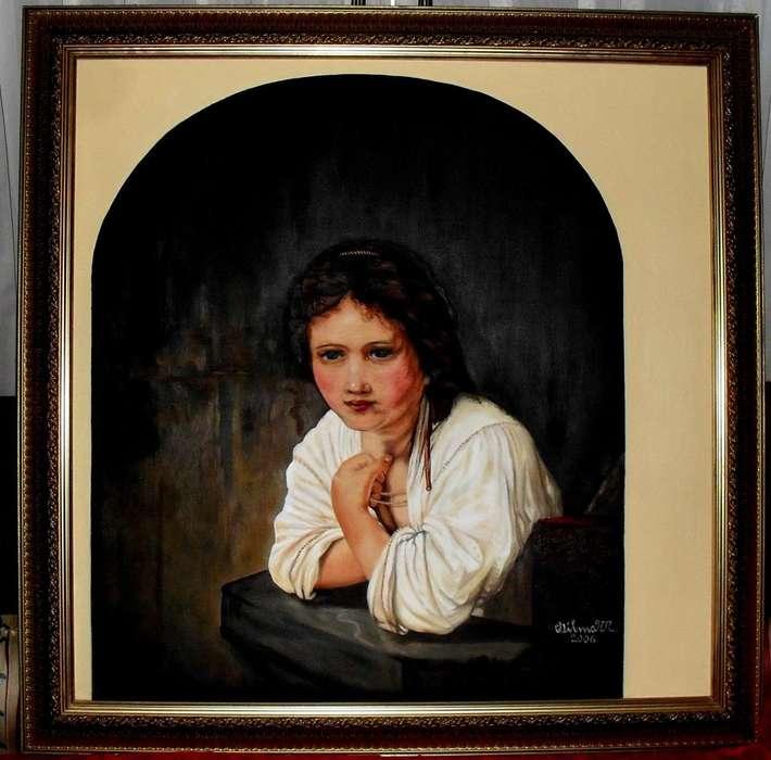 SE VENDE HERMOSO CUADRO EN OLEO D Rembrandt