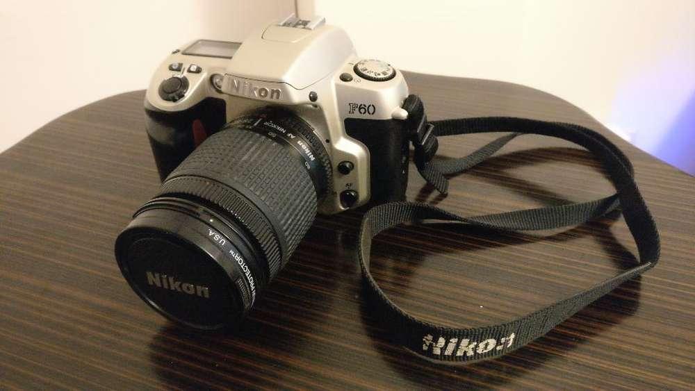 Nikon F60 Camara Slr Tipo Mirror 35mm
