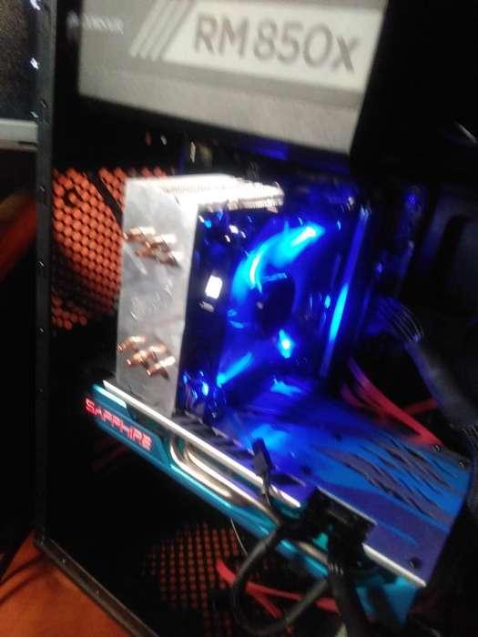 Nuevo Disipador Gammax 400 Led Azul