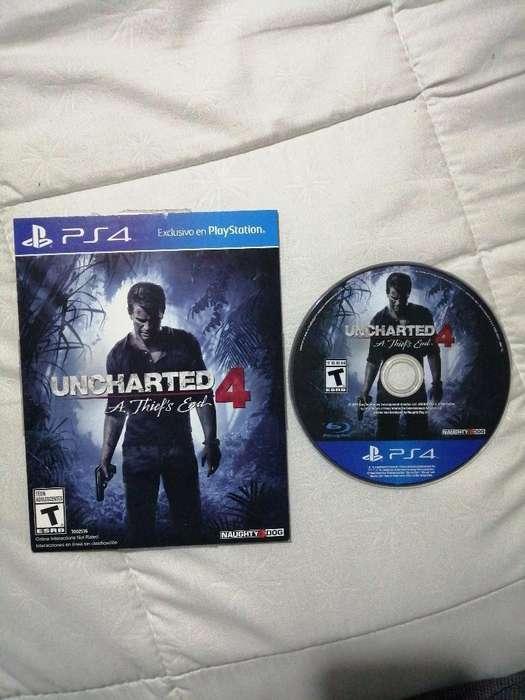 Vendo O Cambio Uncharted 4 Ps4 Original