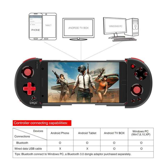 Control <strong>bluetooth</strong> Ipega 9087 Red Knight Disponible Android