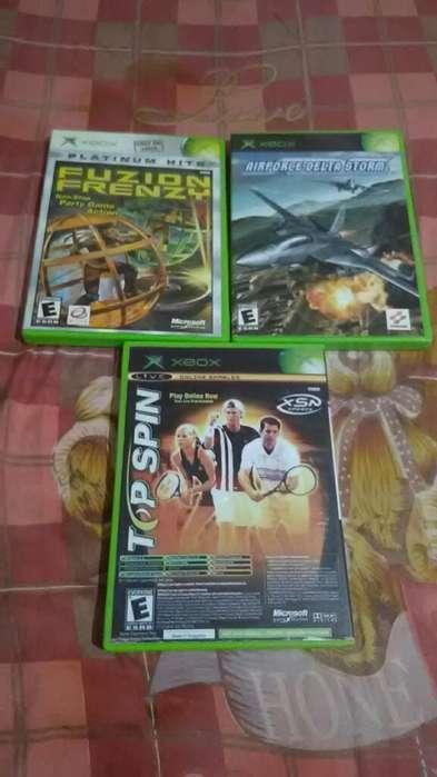 Airforce Fuzion Y Top Spin Xbox Clásico