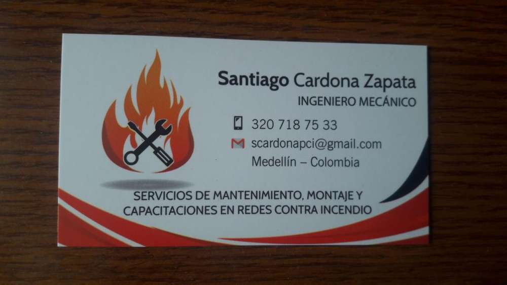 Mantenimiento de sistemas contra incendio, montajes y capacitaciones.