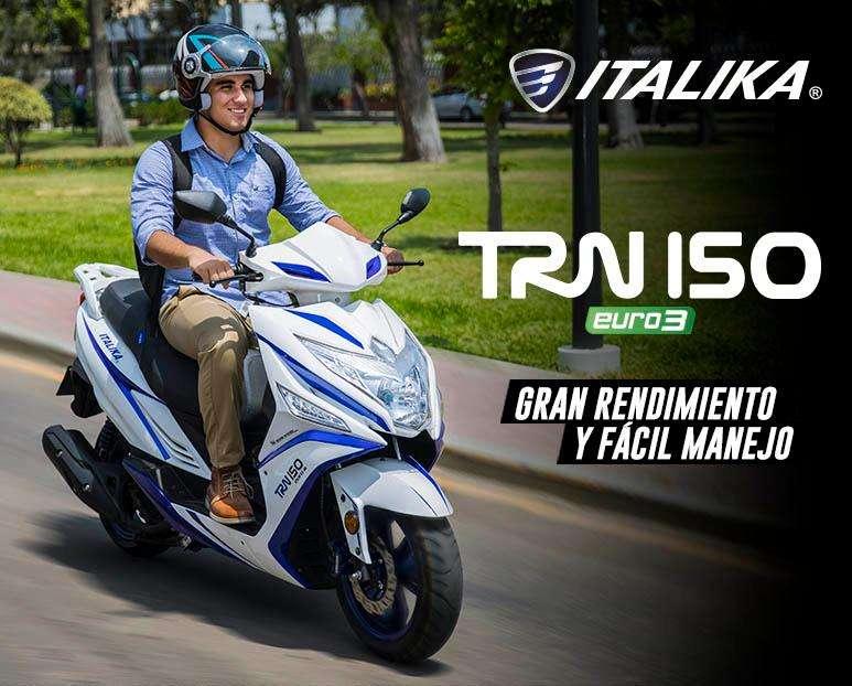 GRAN RENDIMIENTO : SCOOTER ITALIKA TRN 150