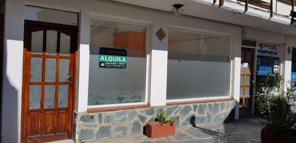 Local en plano centro de Villa Gral Belgrano