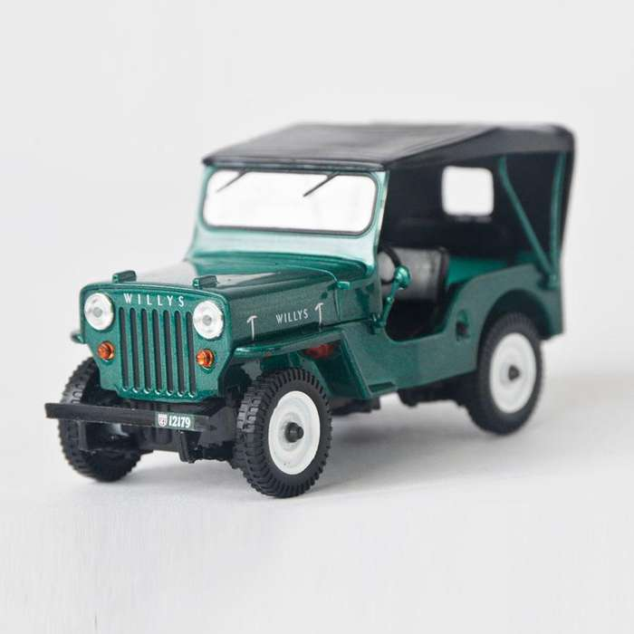 Jeep Willys Cj3b Escala 1:43 Ref 368