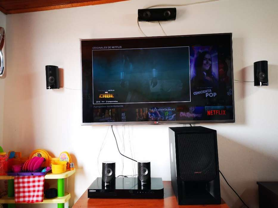 Tv 3d Smatr Tv Y Teatro en Casa Blu Ray