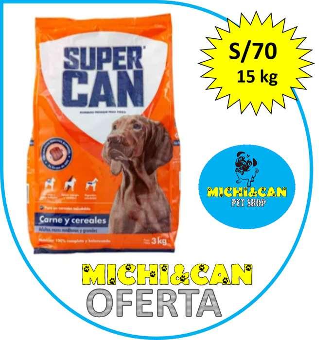 Supercan Adulto 15kg trocitos blandos