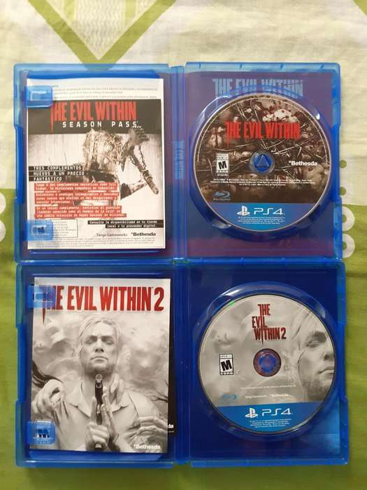 The Evil Within 1 Y 2 para Ps4