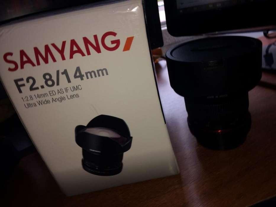 Lente Samyang 14Mm