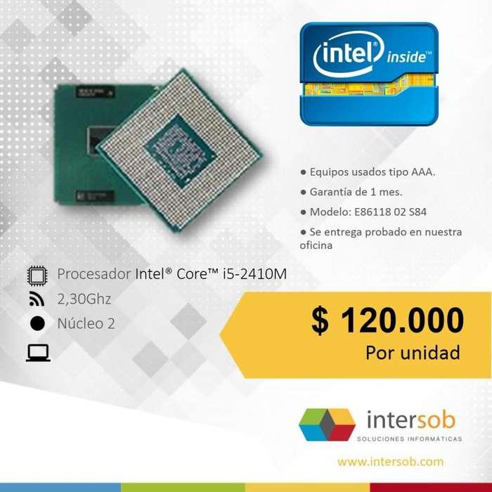 Procesador Intel Corei3, Corei5 y Corei7 Portatil