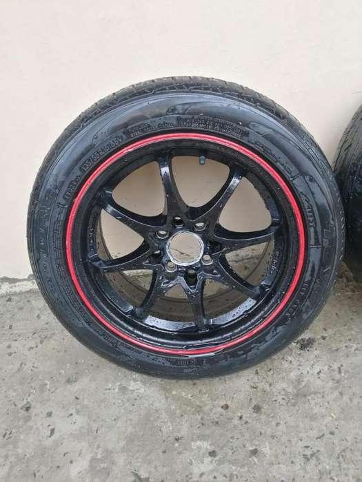 Aros Más Neumáticos Rin 15