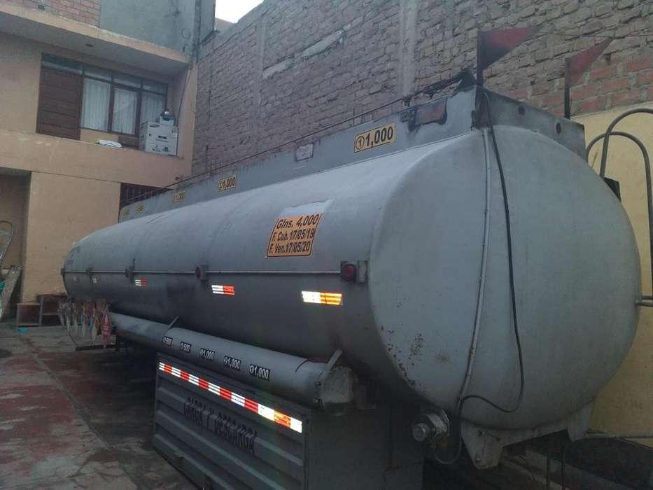 Venta de tanque cisterna de 4000 galones con 5 compartimento