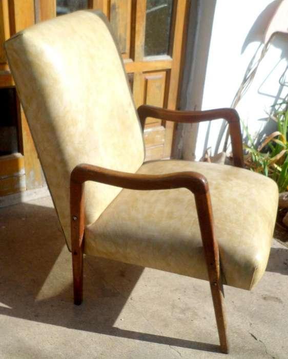 Raro y lindo Sillon <strong>escandinavo</strong> Madera Diseño Retro Vintage Paraver 60