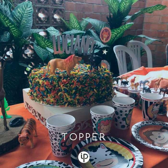 Topper para decoración de tortas