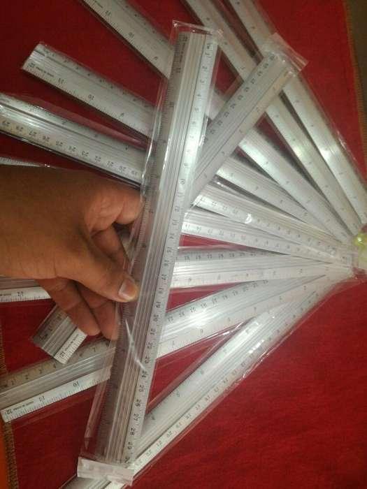 Reglas de Aluminio