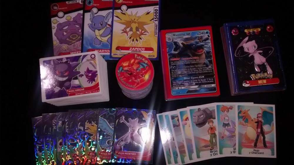 Taps Pokemon Mster Full figuras y Cards Pokmon