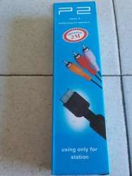 Cable Rca Audio Y Video PlayStation Ps1 Ps2 Ps3 2mts Calidad 480p Nuevos Caja Cerrada ACEPTO TODAS LAS TARJERTAS