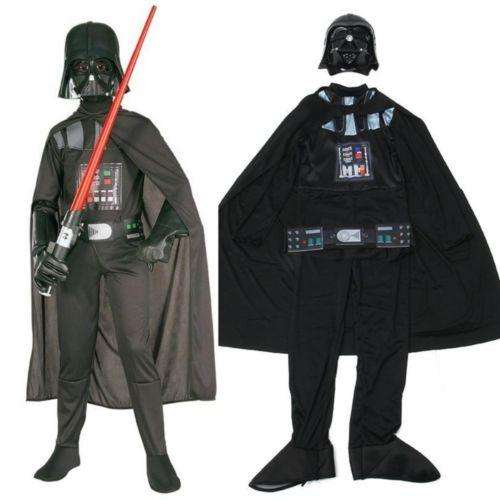 Darth Vader traje disfraz para niños y adultos en todas las tallas excelente material