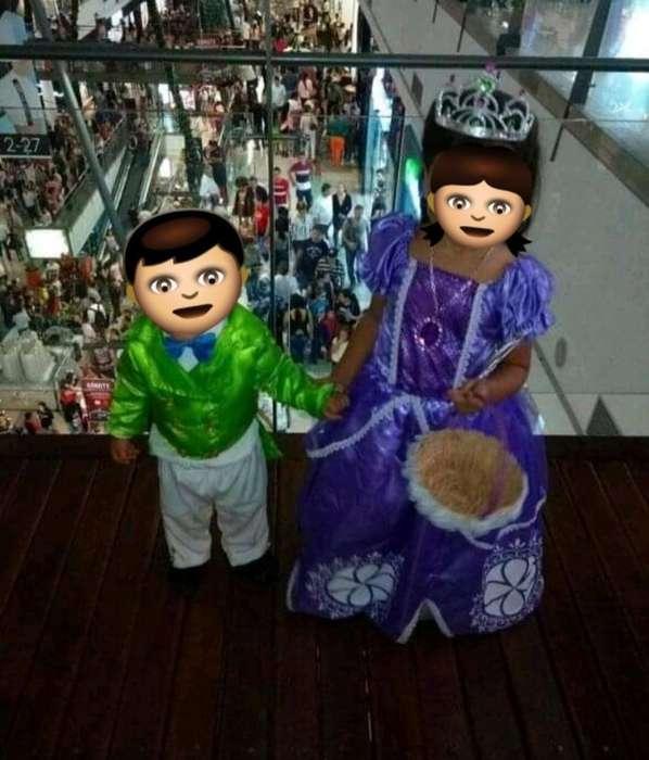 Se Vende Disfras de Princesa Sofia Y Pri