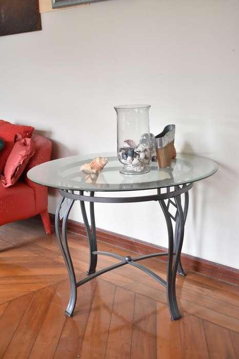 Mesa de vidrio para <strong>patio</strong> o sala