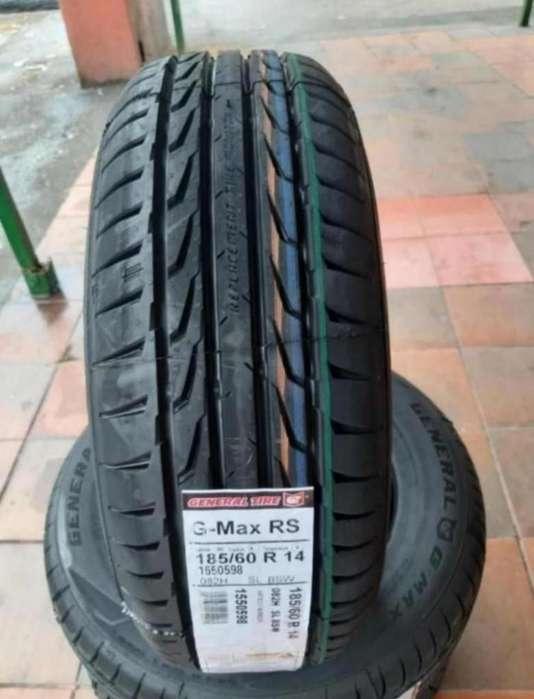 <strong>llanta</strong>s General Gmax O Altimax 185.60r14