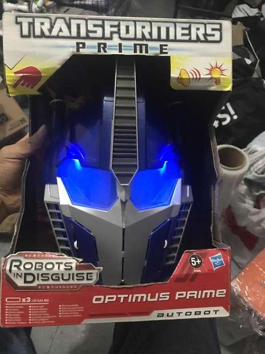 Optimus Prime MASCARA Son Sonidos Hasbro