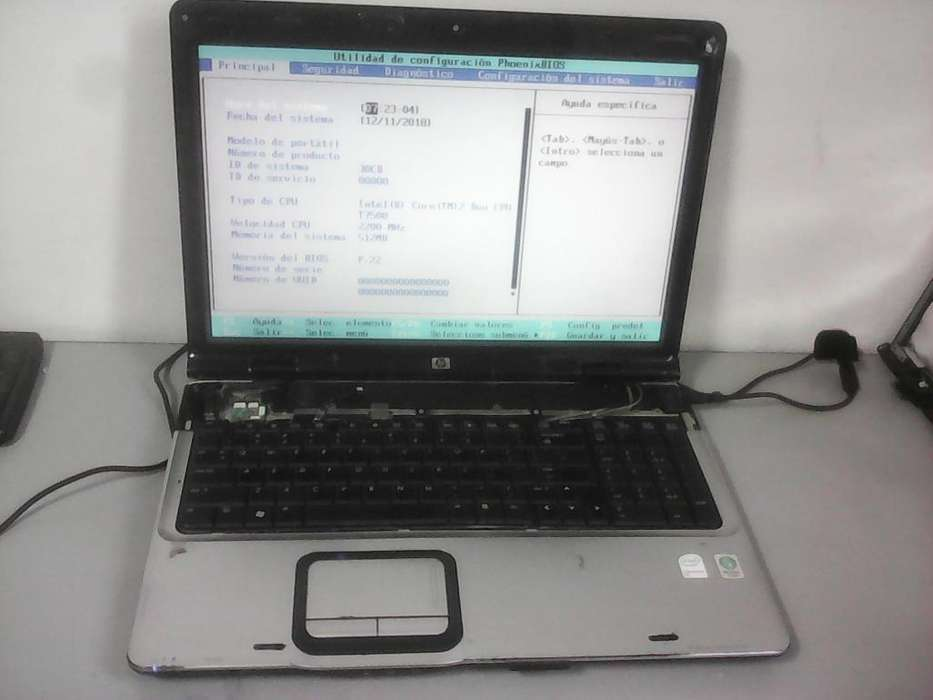 PORTATIL HP DV9600 PARA REPUESTOS