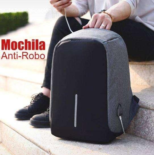 <strong>mochila</strong> Antirobo con portalaptop