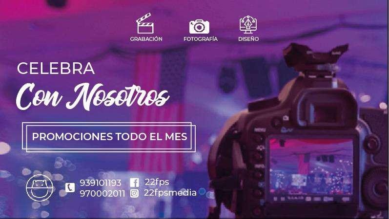 FILMACIÓN Y FOTOGRAFÍA DE BODAS, QUINCEAÑEROS,EMPRESARIALES - PARA TODO TIPO DE EVENTOS (DRONE)