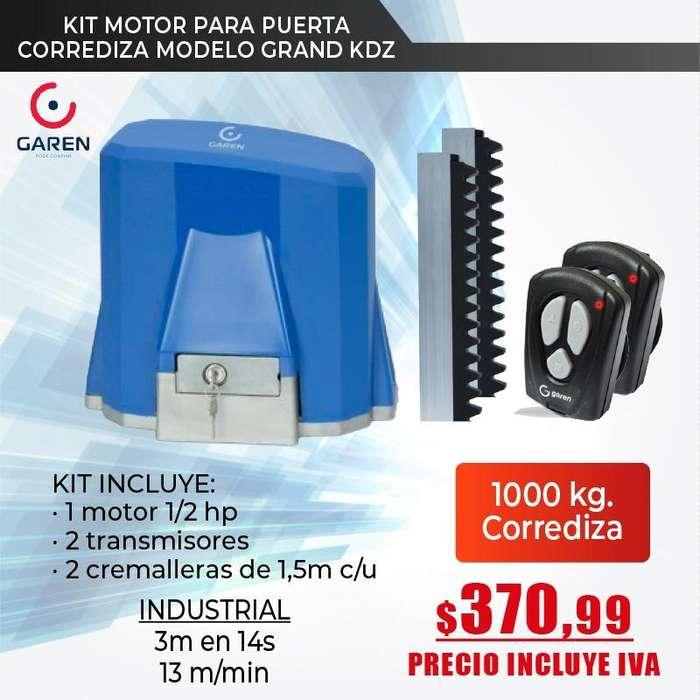 motor de puerta corrediza 1000kg-1200kg/motor de garaje/motor de cremallera-Quito-Guayaquil