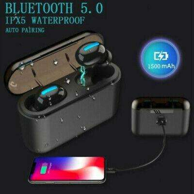 Audifonos Bluetooth HBQ Q32 TWS inalambricos auriculares ipx5 2019