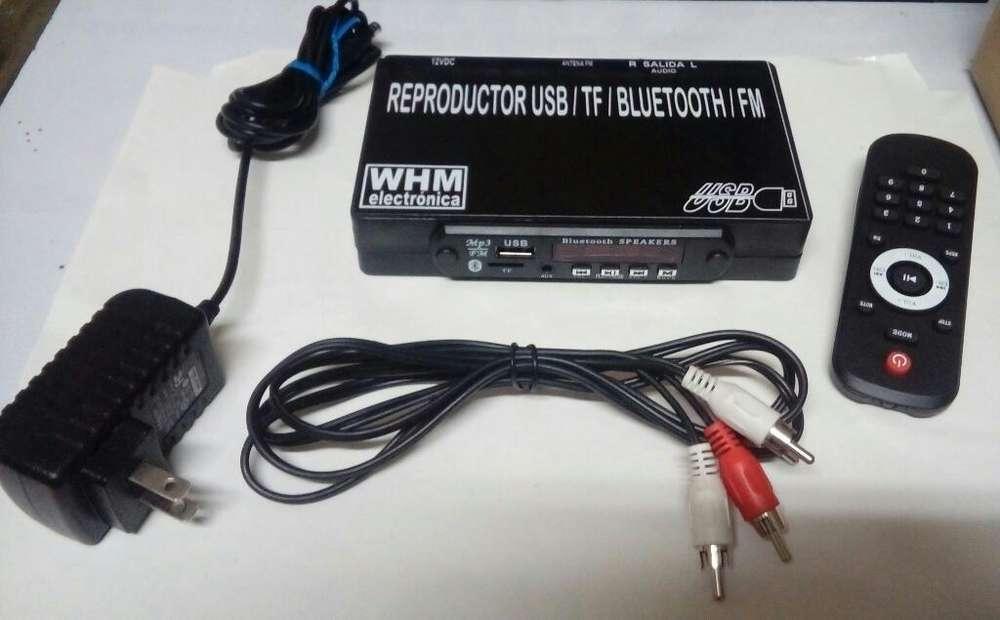 Receptor Bluetooth Usb Fm