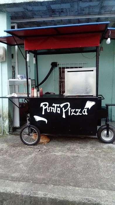 carreta de pizzas