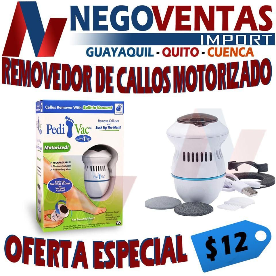 REMOVEDOR DE CALLOS MOTORIZADO