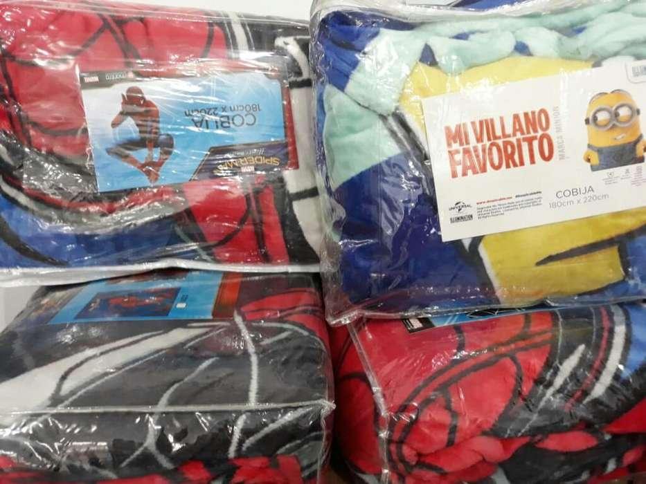 Cobilas Minions Y Spiderman